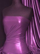 Lucci Fog Foil Stretch Jersey Fabric- Purple Q926 PPL