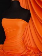 Shiny Lycra 4 Way Stretch Material- Fluorescent Orange Q54 FLOR