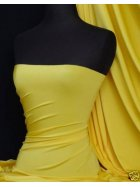 Shiny Lycra 4 Way Stretch Material- Yellow Q54 YL
