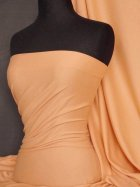 Cotton Lycra Jersey 4 Way Stretch Fabric- Peach Q35 PCH