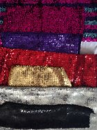 2 KG Clearance Assorted Coloured Sequin Elastane Offcuts