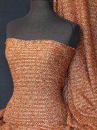 Sweater Knit Acrylic Soft Fabric- Rust Q971 RST