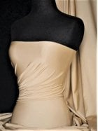 Shiny Lycra 4 Way Stretch Material- Cashmere Q54 CSH