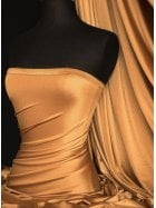 Shiny Lycra 4 Way Stretch Material- Cobre Q54 CBR