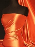 Super Soft Satin Fabric- Marigold Q710 MGLD
