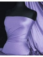 Shiny Lycra 4 Way Stretch Material- Lilac Q54 LIL