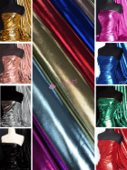 Wet Look Foil Stretch Lycra Fabric Wholesale Roll- JBL469