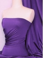 Shiny Lycra 4 Way Stretch Material- Purple Q54 PPL