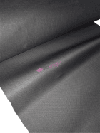 20 METRES Upholstery Vinyl Cotton Back Textured Fabric Material Wholesale Roll- Matt Black JBL127 BK