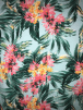 Viscose Elastine Stretch Fabric- Tropical Florals SQ358 AQMLT