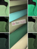 Soft Touch 4 Way Stretch Lycra Fabric Wholesale Roll- Green Shades JBL332