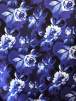 Scuba Stretchy Poly Lycra Fabric- Blue Paradise SCB204 BL
