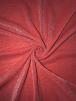 Subtle Silver Shimmer 4 Way Stretch Fabric - Red SQ54 RD