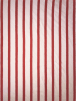 Viscose Cotton 4 Way Stretch Fabric- Ivory/Red Stripe SQ422 IVRD