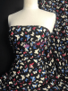Soft Polyester Dress & Blouse Fabric- Butterflies Print POLY58