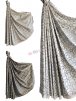 Designer Curtain Upholstery Fabric Printed Interior Material- 148-151cm Width