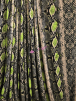 Poly Viscose Light Weight Stretch Sheer Fabric- Reptile Print VSCP26