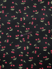 Viscose Printed 4 Way Stretch Lycra- Cherry Picking SQ505 BKRD