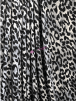 Viscose Printed 4 Way Stretch Lycra- Grey/Black Cheetah SQ506 BKGR