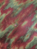 Tie-Dye Fishnet 4 Way Stretch Material- Candy Apple Q713 RDGRN