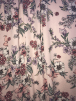 25 METRES Georgette Crepe Soft Touch Sheer Fabric Wholesale Roll- Feminine Florals JBL472 PNMLT