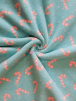 Polar Fleece Anti Pill Washable Soft Fabric- Candy Canes SQ523 BBLPN