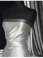 Satin Medium Weight Fabric- Silver Grey Q243 SLVGY