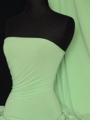 Soft Touch 4 Way Stretch Lycra Fabric- Soft Mint Q36 SMNT