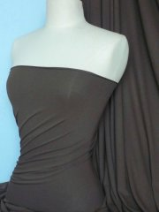 Crepe 4 Way Stretch Jersey Fabric- Khaki Q263 KH