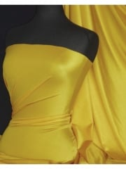 Shiny Lycra 4 Way Stretch Material- Golden Yellow Q54 GDYL