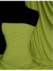 Silk Touch 4 Way Stretch Lycra Fabric- Lime Green Q53 LMGR
