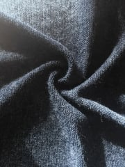 Sweater Knit Acrylic Soft Knitwear Fabric- Navy SQ113 NY