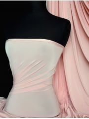 Silk Touch 4 Way Stretch Lycra Fabric- Flesh Pink Q53 FLSPN