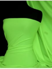 Marcy 4 Way Stretch Poly Lycra Fabric- Citrus Lime Q1336 CTLM