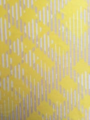 Silk Touch 4 Way Stretch Fabric- Erratic Contours Yellow/Ivory SQ165 YLIV