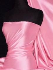 Super Soft Satin Fabric- Candy Pink Q710 CPN