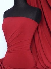 Soft Touch 4 Way Stretch Lycra Fabric- Scarlet Red Q36 SCRD