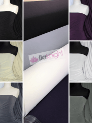 Soft Touch 4 Way Stretch Lycra Fabric Wholesale Roll- Neutral Shades JBL332