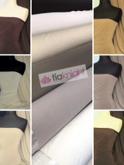 Soft Touch 4 Way Stretch Lycra Fabric Wholesale Roll- Brown Shades JBL332