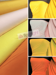 Silk Touch 4 Way Stretch Lycra Fabric Wholesale Roll- Bright Shades JBL333