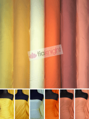 25 METRES 100% Cotton Interlock Knit Soft Jersey T-Shirt Fabric Wholesale Roll- Bright Shades JBL334