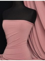 Silk Touch 4 Way Stretch Lycra Fabric- Dusky Pink Q53 DPN
