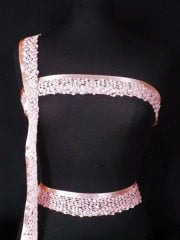 Sequin Trim- Pink SY205 PN