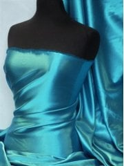 Satin Medium Weight Fabric- Turquoise Q243B TQS