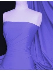Matt Lycra 4 Way Stretch Fabric- Lavender Q56 LVD