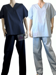 Ready To Wear NHS Hospital Scrubs Uniform Set Unisex | Made In The UK