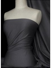 Cotton Lycra Jersey 4 Way Stretch Fabric - Platinum Grey Q35 PLT