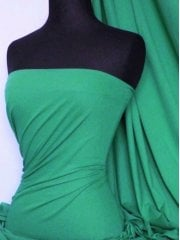 Soft Fine Rib 100% Cotton Knit Material - Jade Q61 JD