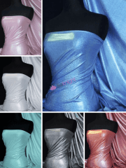Mystique Hologram Foil Nylon Lycra 4 Way Stretch Fabric- Q781