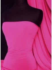 Clearance Soft Touch 4 Way Stretch Lycra Fabric- Cerise (Q36) CRS